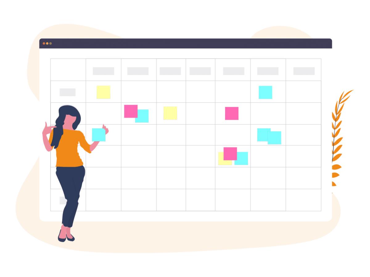 calendrier ou planning du freelance